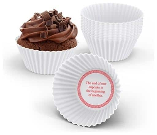Cup cakes - with chocolate cookies