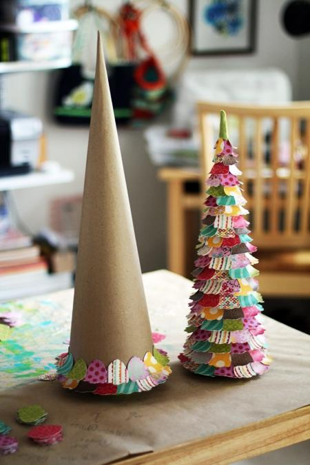diy room decor 14 colorful cones