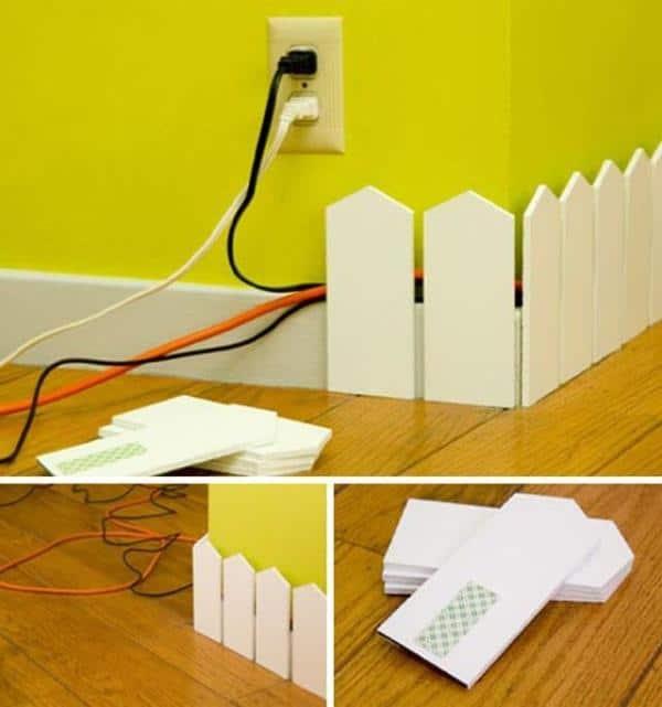 DIY Room Decor 5 - creative floor cornice