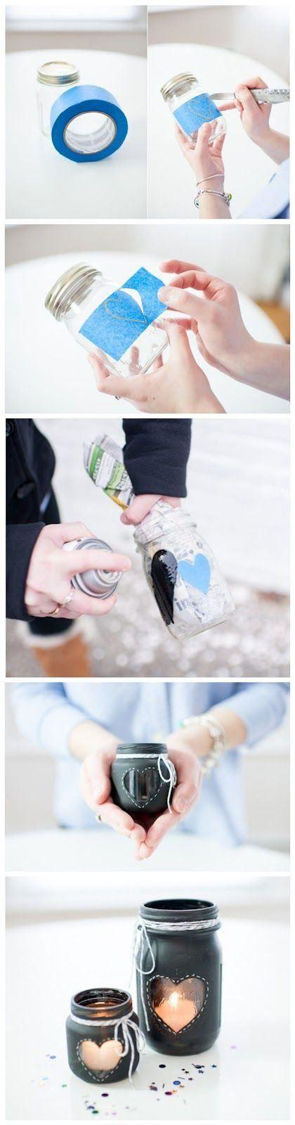 DIY mason jar - a visual guide