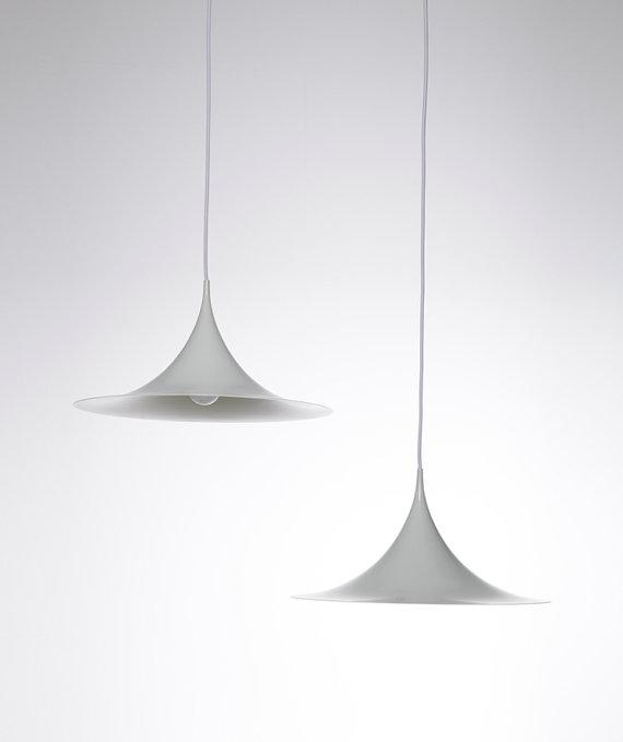 Danish design pendants - white shaders
