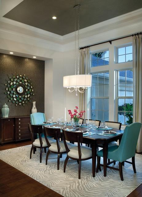 Dining Room Accent Wall - Ideas for Color Combination ...