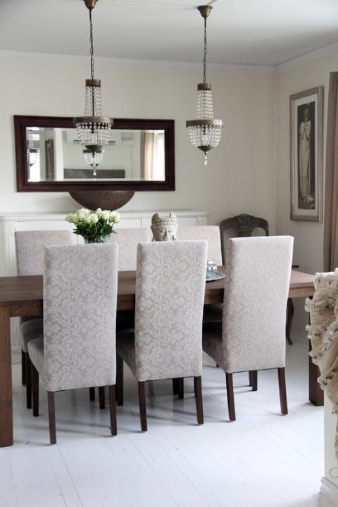 What decoration should you choose for your dining area - Espejos modernos para comedor ...