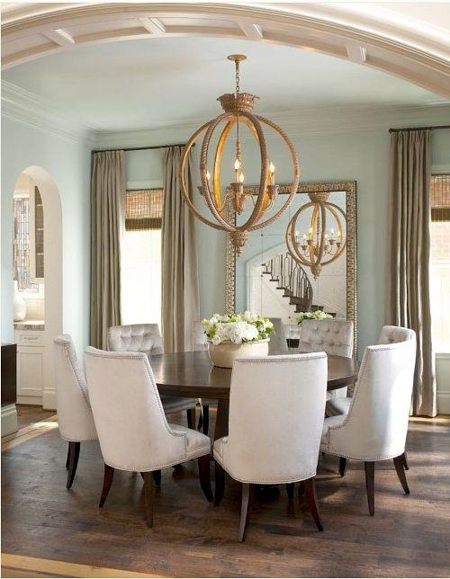 Dining Room Mirror   With Classic Frame