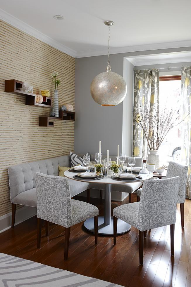 Dining room table 11 - in a small apartment