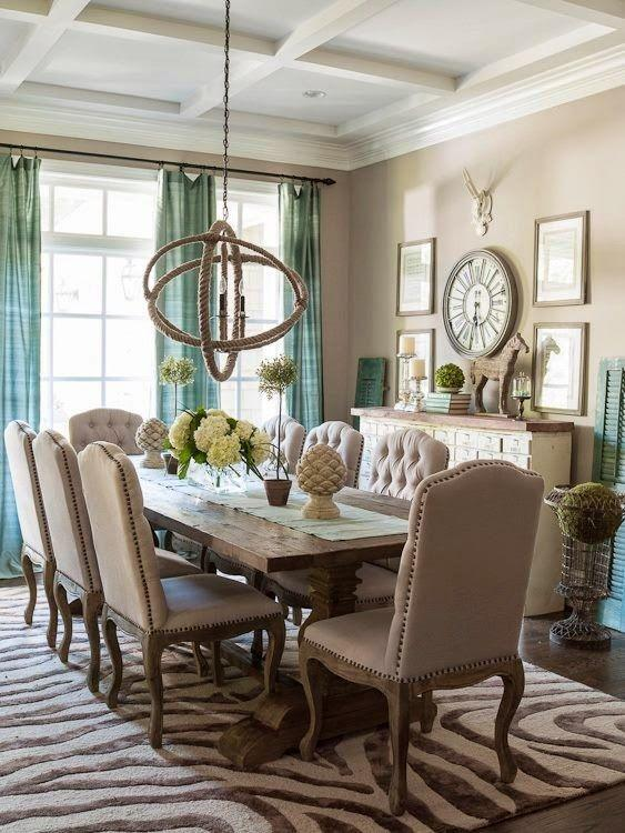 Dining room tables what chairs or decor to choose for Dining room table decor ideas