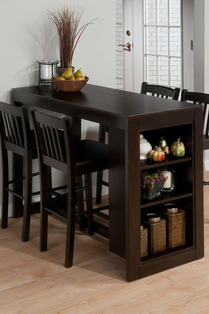 Dining room table 5 - with bar stools