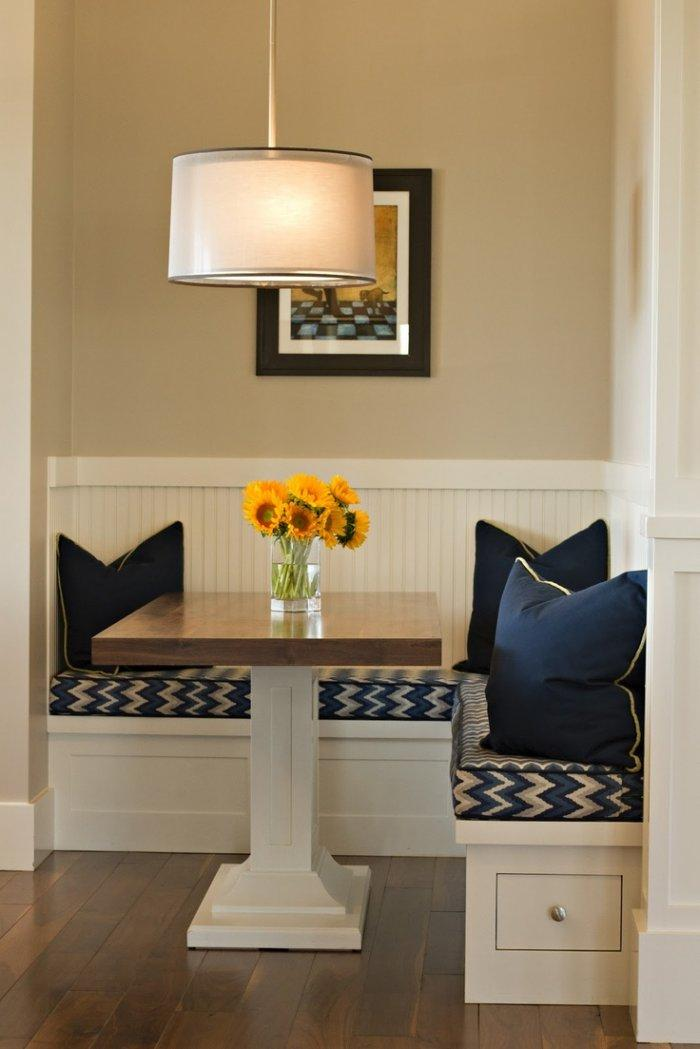 Dining room table 6 - in a small corner