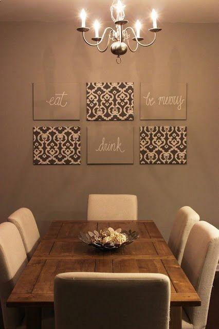Dining room table - with white charis
