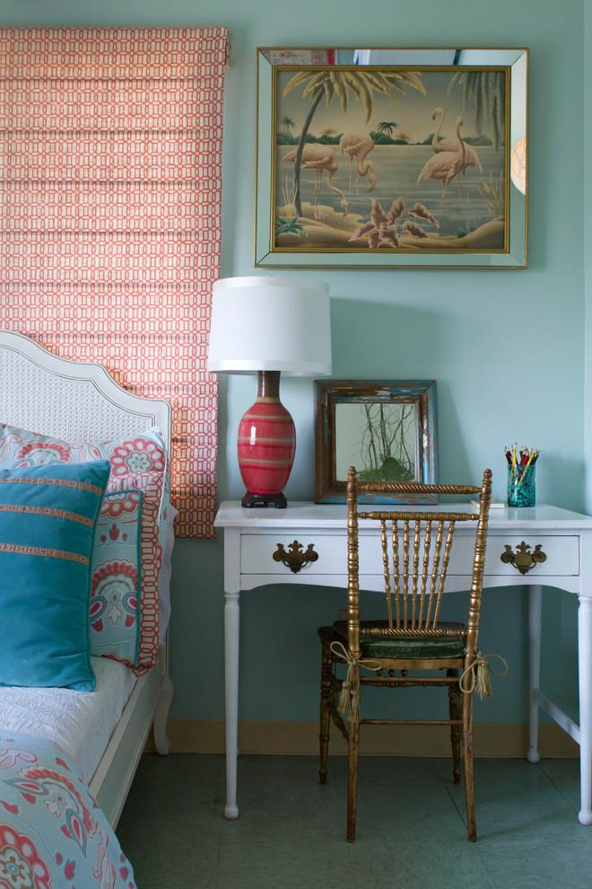 Eclectic bedroom 2 - with chic interior