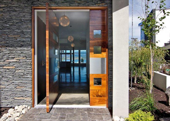 Entrance door 1 - with minimalist design