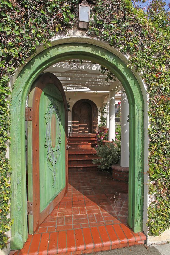 Entrance door 4 - with old vintage design