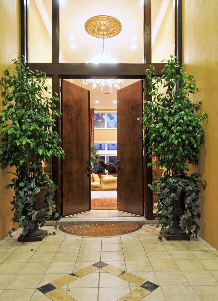 Entrance door 6 - with stylish and simple design