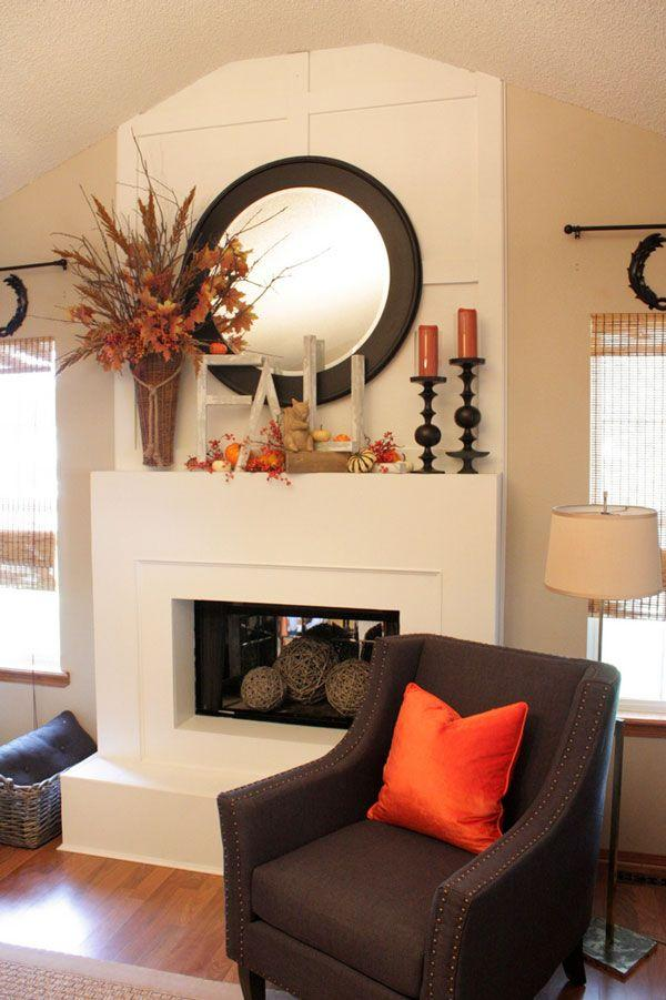 Fireplace Decorating Ideas for Mantel and