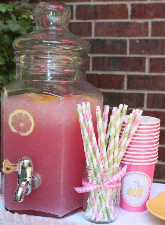 Girl baby shower 3 - pink lemonade