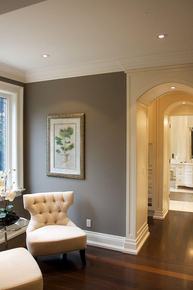 Grey Living Room Paint 4   In An Elegant Traditional House Part 39