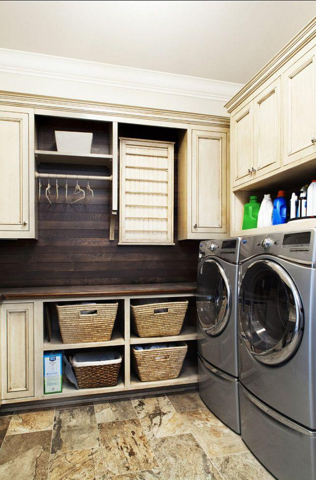 Home laundry room - with two washing mashines