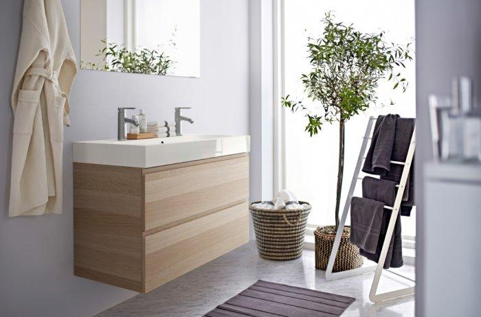 IKEA bathroom basin cabinets- with two drawers