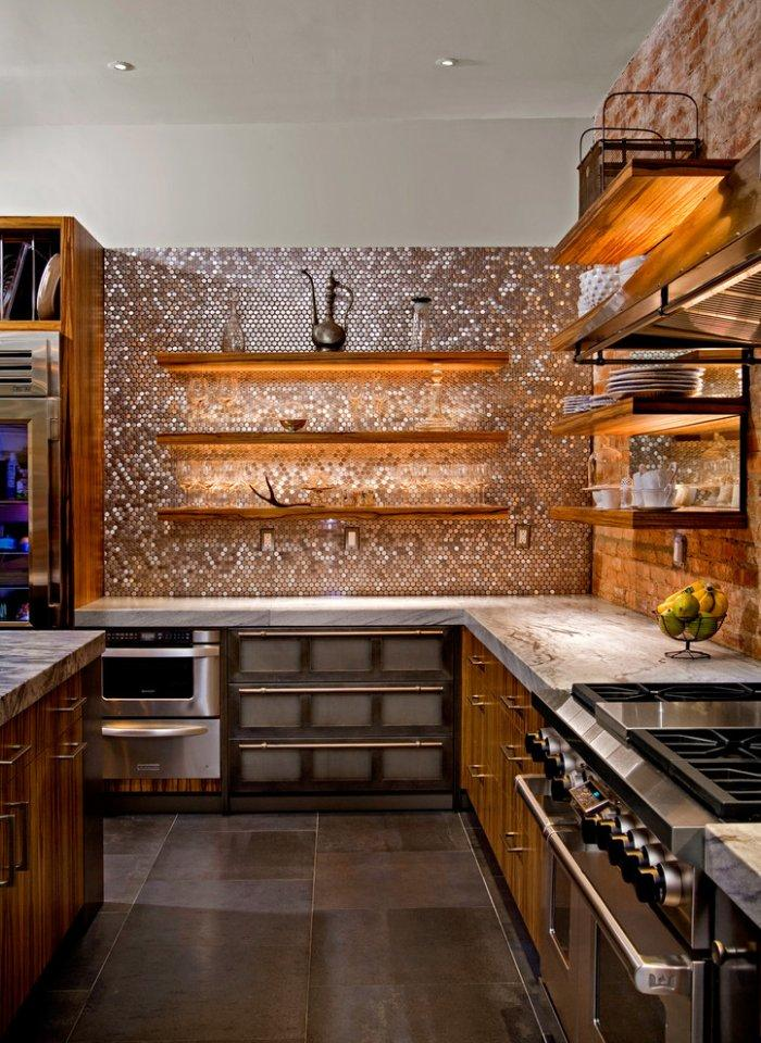 Kitchen backsplash 6 - luxurious style