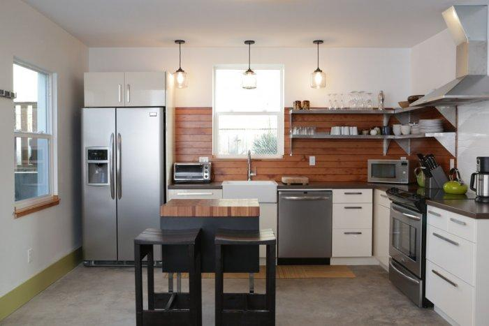 Kitchen backsplash 7 - urban style