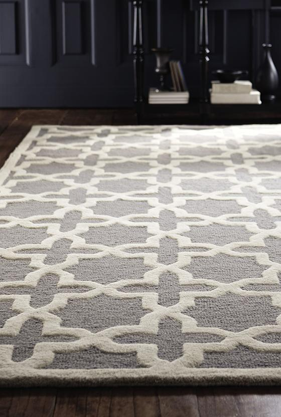 Living room area rug 2 - with plus pattern