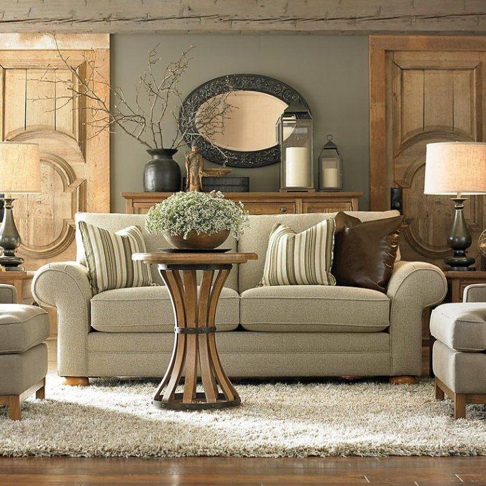 Living room couch 12 - a stylish traditional design