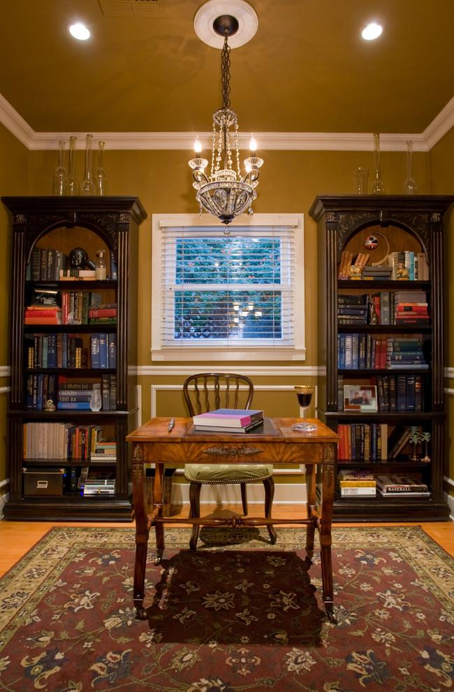 Man's cave bookcase design - made of solid wood