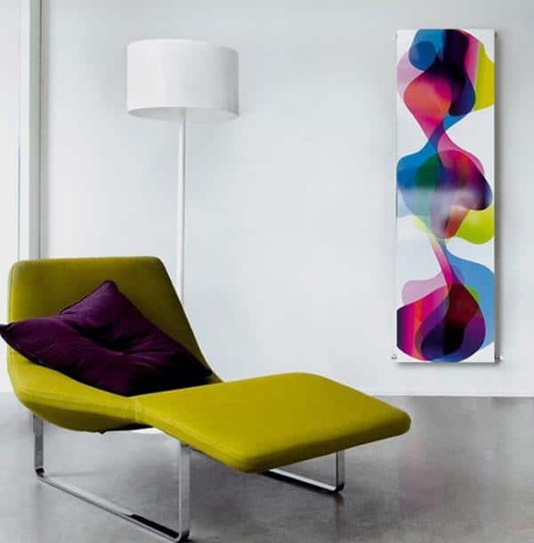 Modern decor idea 1 - white contemporary floor lamp