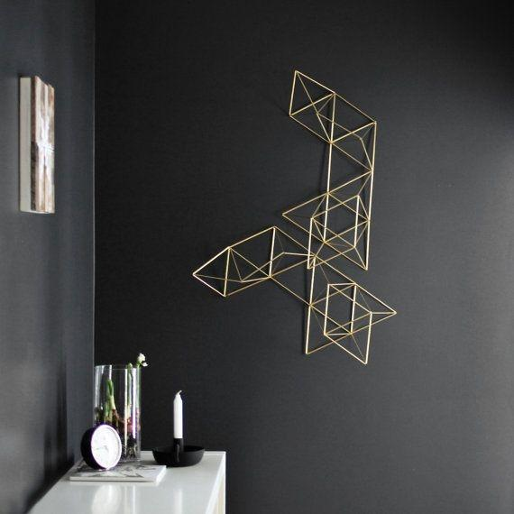 Modern decor idea 2 - minimalist wall art