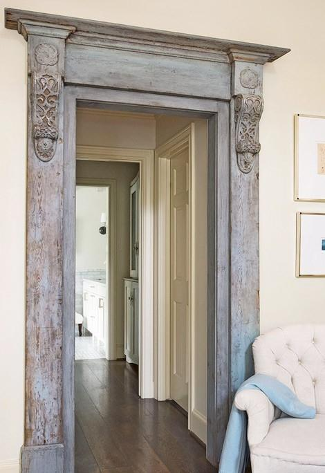 Modern decor idea 7 - ornate door frame