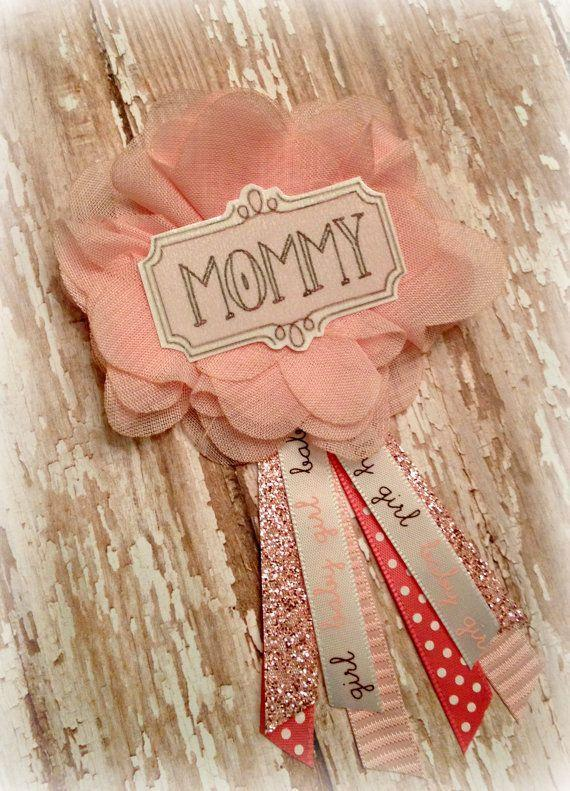 Mommy Baby Shower Ribbon   For The Front Door