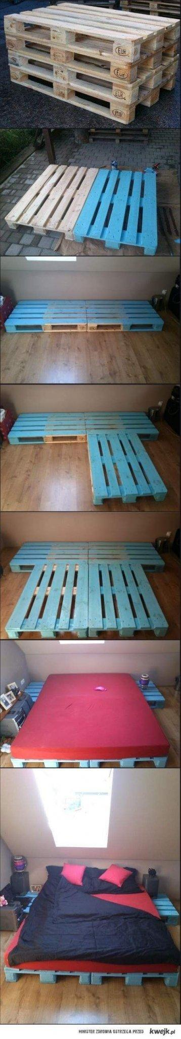 Pallet bed frame 4 - how to do it