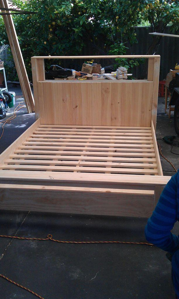 Pallet bed frame 5 - a solid base