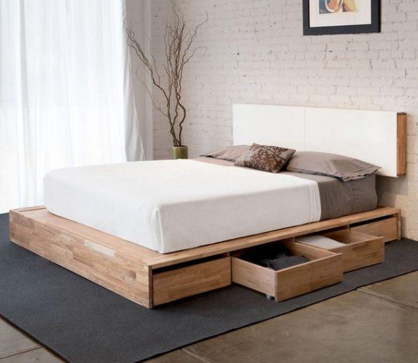 pallet bed storage 2 for clothes founterior