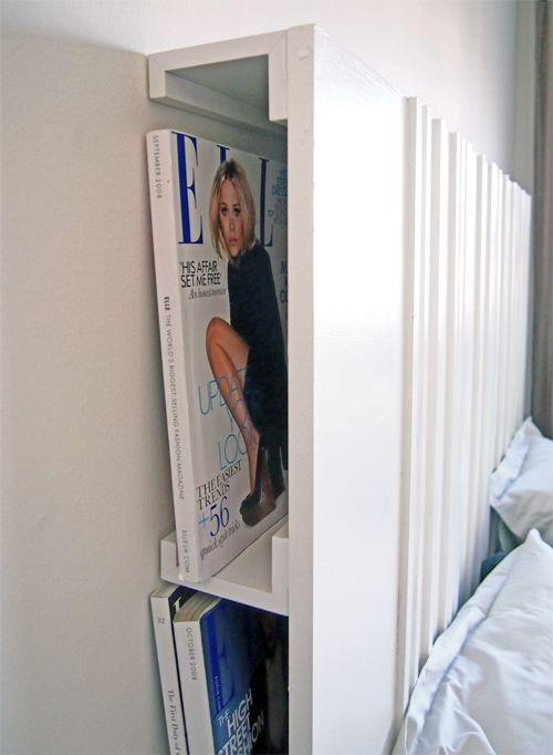 Pallet bed storage 4 - for magazines