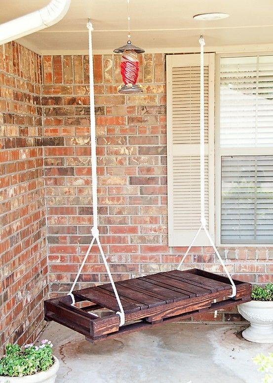 Pallet swing - for the front porch or veranda