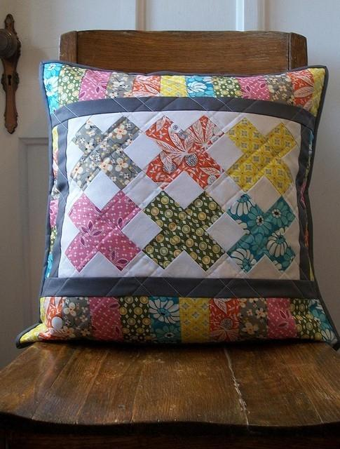 Pillow cover design 14 - with colorful patterns