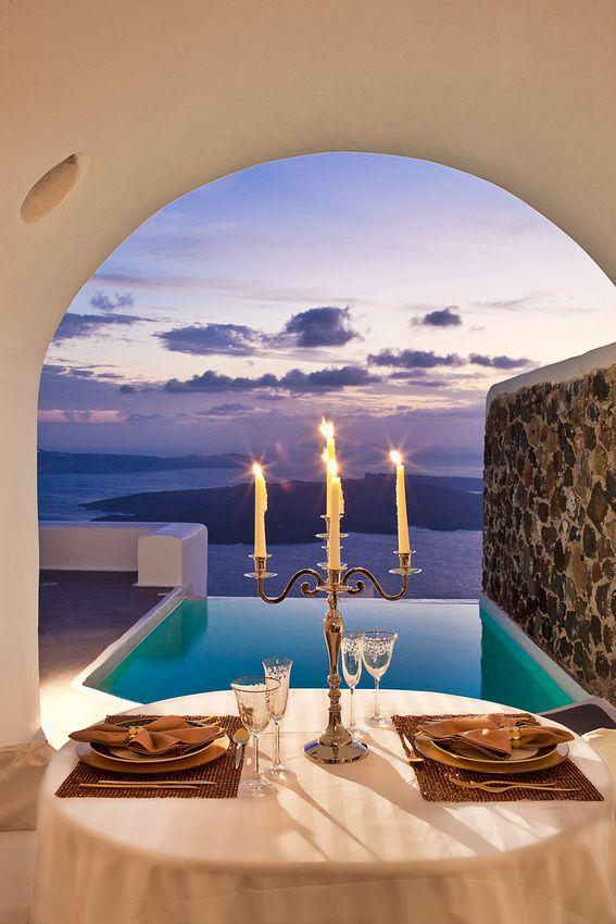 Romantic table on the beach 1 - with amazing view over the ocean