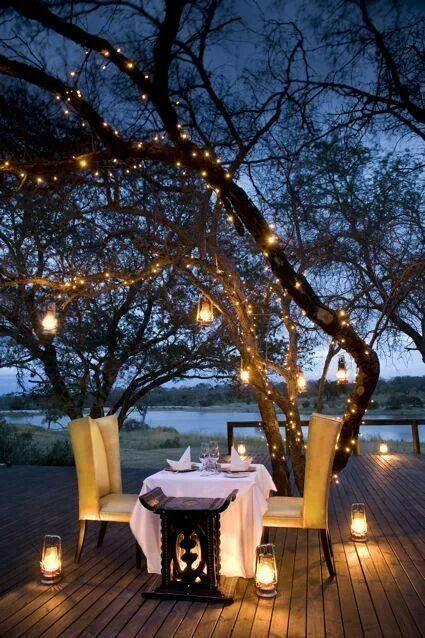 Romantic table on the beach 4 - beneath an old tree
