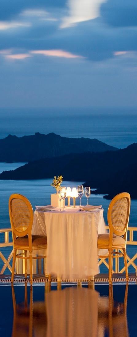 Romantic table on the beach 5 - on a Greek island