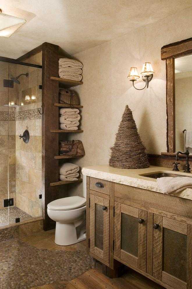 Rustic bathroom 11 - with cozy interior
