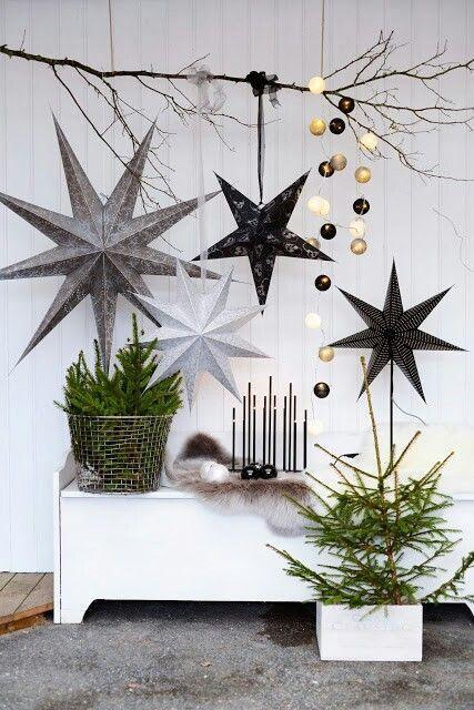 Scandinavian Christmas Decorations And Ideas P1 Founterior