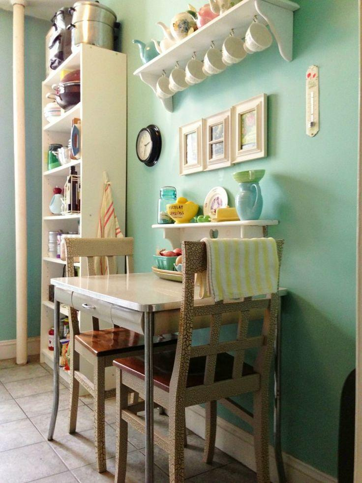 Small Kitchen Idea - with two chairs