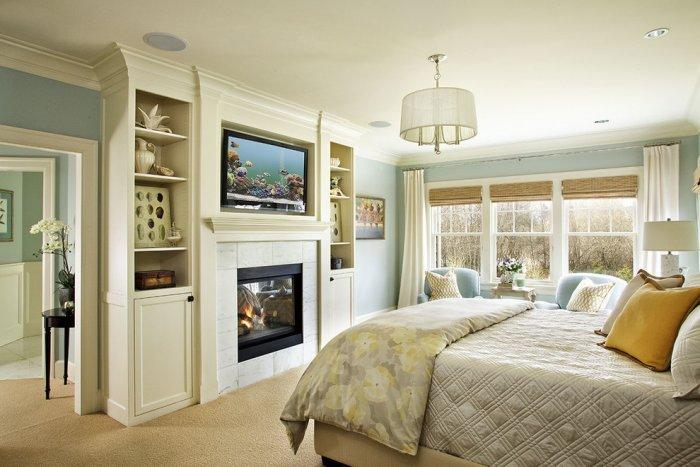 Small Bedroom Fireplace 3   In Traditional Home Part 74