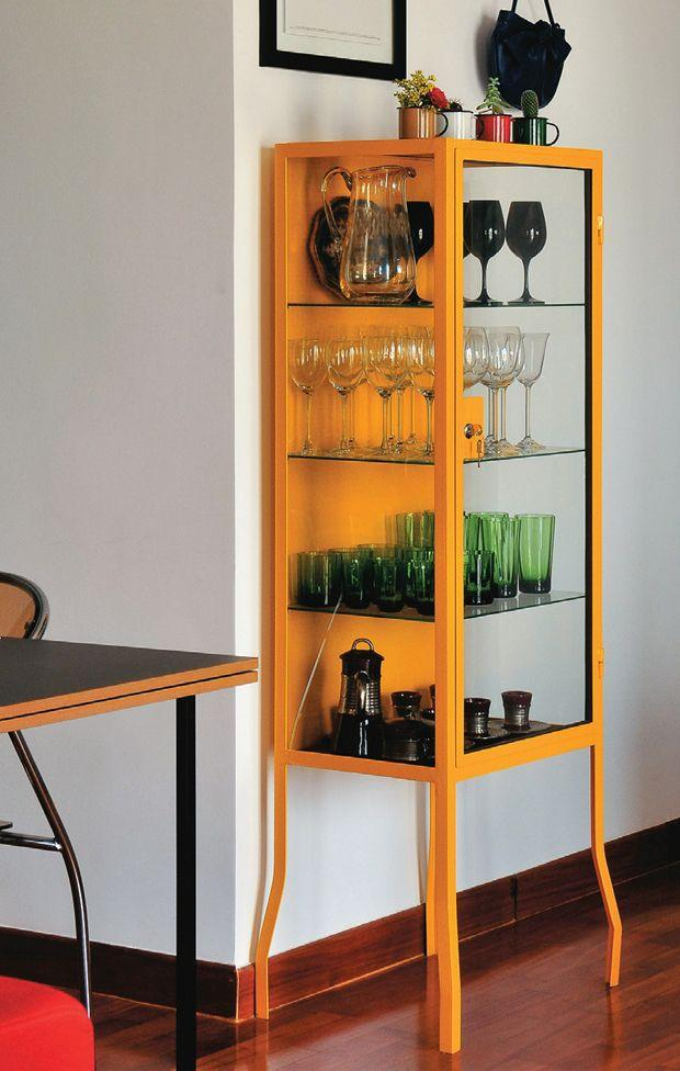 Small glass storage - with glazed sides