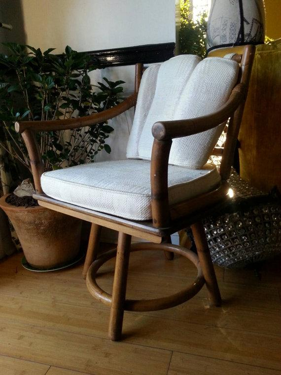 Soft chair pad - on vintage chair