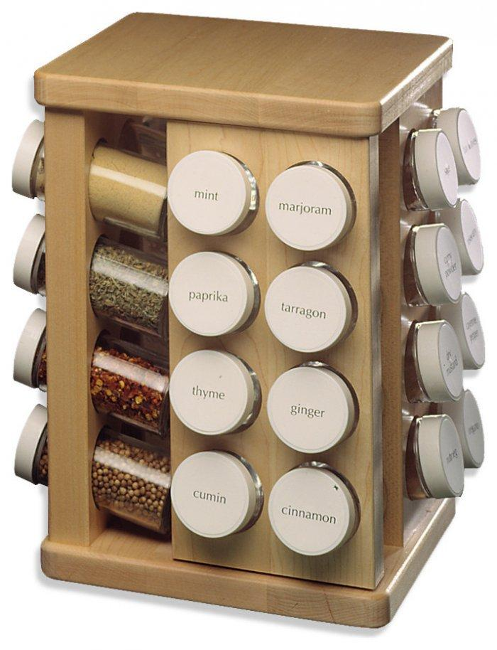Spices storage - for salt, pepper and paprika