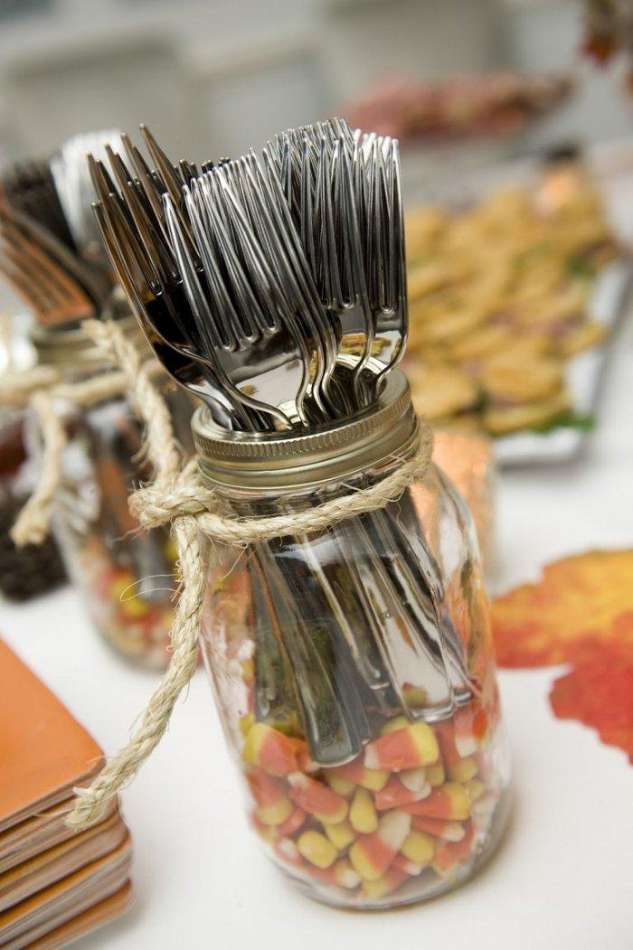 Thanksgiving decorations and ideas for tables founterior for Handmade thanksgiving decorations
