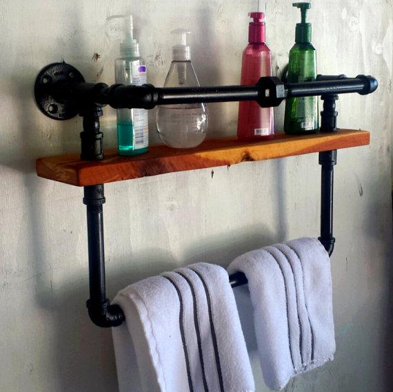 Toilet shelves - for storing towels