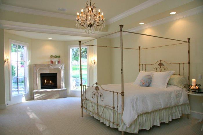 Fireplace ideas for bedroom practical advices founterior for Modern victorian bedroom designs